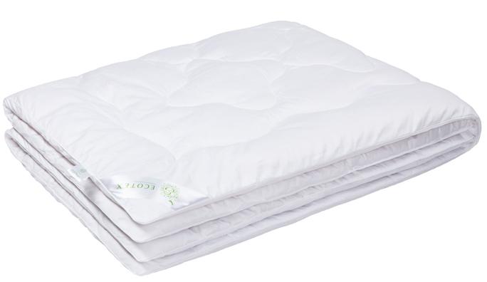 Одеяло Ecotex Бамбук-Роял, наполнитель: бамбуковое волокно, цвет: белый, 172 х 205 смCLP446- экологически чистый природный материал;- высокие антибактериальные свойства;- не вызывает раздражения;- ощущение свежести: регулирует влажность и теплообмен;- долговечность: сохраняет свои первоначальные свойства и форму после многократной эксплуатации.