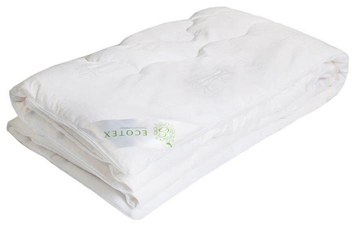 Одеяло Ecotex Бамбук, наполнитель: бамбуковое волокно, цвет: белый, 110 х 140 см012H1800Одеяло Ecotex пригодно для использования в переходные периоды весной и осенью, а также в качестве городского одеяла круглый год. Оно легкое, но теплое, идеально подходит для любого климата в помещении.Одеяло изготовлено из экологически чистого природного материала. Оно не вызывает раздражения, регулирует влажность и теплообмен, а также сохраняет свои первоначальные свойства и форму после многократной эксплуатации.Размер одеяла: 110 x 140 см.