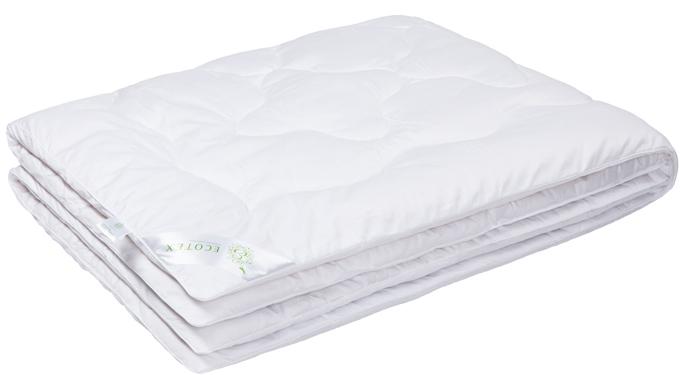 Одеяло Ecotex Бамбук-Роял, наполнитель: бамбуковое волокно, цвет: белый, 200 х 220 смCLP446- экологически чистый природный материал;- высокие антибактериальные свойства;- не вызывает раздражения;- ощущение свежести: регулирует влажность и теплообмен;- долговечность: сохраняет свои первоначальные свойства и форму после многократной эксплуатации.