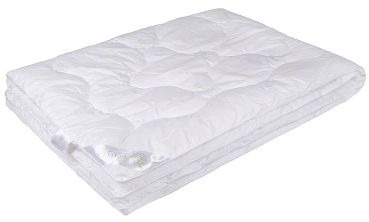 Одеяло Ecotex Премиум Бамбук, облегченное, наполнитель: бамбуковое волокно, цвет: белый, 172 х 205 см96281375Одеяло Ecotex пригодно для использования в переходные периоды весной и осенью, а также в качестве городского одеяла круглый год. Оно легкое, но теплое, идеально подходит для любого климата в помещении.Одеяло изготовлено из экологически чистого природного материала. Оно не вызывает раздражения, регулирует влажность и теплообмен, а также сохраняет свои первоначальные свойства и форму после многократной эксплуатации.Размер одеяла: 172 x 205 см.