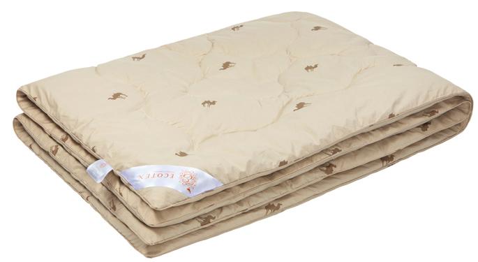 Одеяло Ecotex Караван, наполнитель: верблюжья шерсть, цвет: светло-бежевый, 172 х 205 см98520745- сухое тепло: комфортный температурный режим в любое время года;- целебные свойства;- высокое содержание ланолина, благоприятно воздействующего на кожу, мышцы и суставы;- антистресс: успокаивает, снимает усталость;- экологичность и антистатичность.