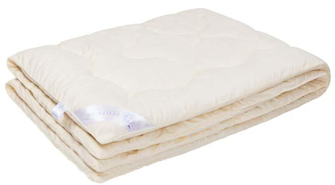 Одеяло Ecotex Кашемир, наполнитель: шерсть, цвет: светло-бежевый, 172 х 205 см531-401- долговечность и экологичность;- исключительная мягкость, легкость и шелковистость;- комфорт во время сна: сохраняет тепло, обеспечивая прекрасную циркуляцию воздуха;- снимает напряжение, накопленное за день;- антистатичность.