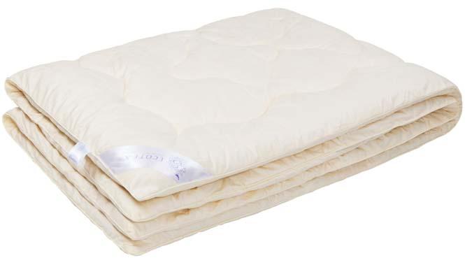 Одеяло Ecotex Роял Кашемир, наполнитель: шерсть, цвет: светло-бежевый, 200 х 220 см531-105Одеяло Ecotex очень мягкое, уютно теплое и активно дышащее, обладает прекрасными функциональными свойствами. Благодаря уникальной комбинации теплозащитных и вентилирующих свойств одеяло создает идеальный микроклимат во время сна.Одеяло изготовлено из экологически чистого природного материала, исключительно легкое и шелковистое.Размер одеяла: 200 х 220 см.