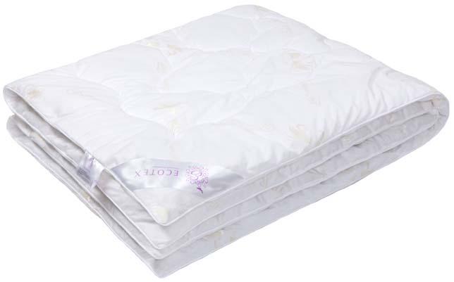 Одеяло Ecotex Премиум Лебяжий пух, наполнитель: синтепух, цвет: белый, 110 х 140 см539937/2Одеяло Ecotex пригодно для использования в переходные периоды весной и осенью, а также в качестве городского одеяла круглый год. Оно легкое, но теплое, идеально подходит для любого климата в помещении.Одеяло изготовлено из экологически чистого природного материала, легко стирается и быстро сохнет.Размер одеяла: 110 х 140 см.