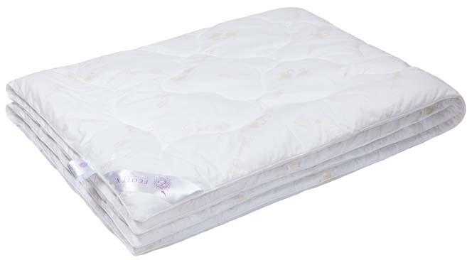 Одеяло Ecotex Лебяжий пух, наполнитель: синтепух, цвет: белый, 200 х 220 см531-103- экологичность;- воздухопроницаемость;- долговечность;- легкость в уходе: легко стирается, быстро сохнет.