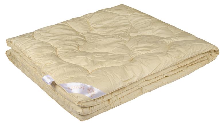 Одеяло Ecotex Меринос, наполнитель: овечья шерсть, цвет: светло-бежевый, 140 х 205 см531-103- мягкость и упругость;- исключительная теплоизоляция;- экологичность;- антистатичность и гигроскопичность.