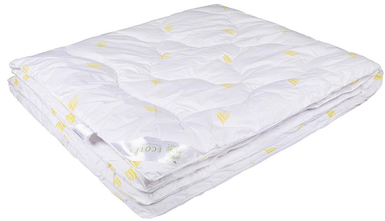 Одеяло Ecotex Маис, наполнитель: синтепух, цвет: белый, 140 х 205 смS03301004- экологичность;- износостойкость;- мягкость, упругость, воздушность;- терморегуляция и гигроскопичность;- легкость в уходе.