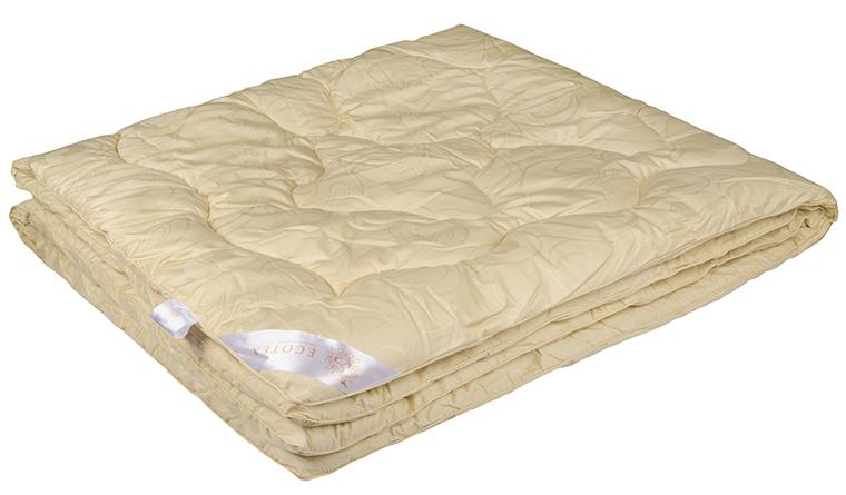 Одеяло Ecotex Меринос, наполнитель: овечья шерсть, цвет: светло-бежевый, 200 х 220 см531-105- мягкость и упругость;- исключительная теплоизоляция;- экологичность;- антистатичность и гигроскопичность.