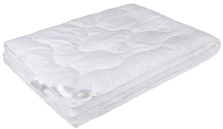 Одеяло Ecotex Премиум Бамбук, наполнитель: бамбуковое волокно, цвет: белый, 140 х 205 см012H1800Одеяло Ecotex пригодно для использования в переходные периоды весной и осенью, а также в качестве городского одеяла круглый год. Оно легкое, но теплое, идеально подходит для любого климата в помещении.Одеяло изготовлено из экологически чистого природного материала. Оно не вызывает раздражения, регулирует влажность и теплообмен, а также сохраняет свои первоначальные свойства и форму после многократной эксплуатации.Размер одеяла: 140 x 205 см.