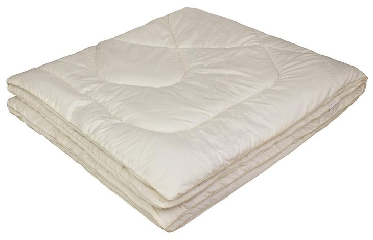 Одеяло Ecotex Овечка-Комфорт, наполнитель: овечья шерсть, цвет: слоновая кость, 140 х 205 смGC220/05- сухое и здоровое тепло: создает комфортный микроклимат во время сна в любое время года;- долговечность и экологичность;- комфорт: антистатичность, мягкость, легкость и объем.