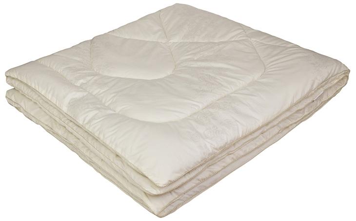 Одеяло Ecotex Овечка-Комфорт, наполнитель: овечья шерсть, цвет: слоновая кость, 172 х 205 см531-105- сухое и здоровое тепло: создает комфортный микроклимат во время сна в любое время года;- долговечность и экологичность;- комфорт: антистатичность, мягкость, легкость и объем.