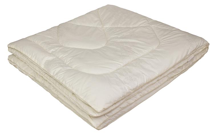 Одеяло Ecotex Овечка-Комфорт, наполнитель: овечья шерсть, цвет: слоновая кость, 200 х 220 смpch222649Одеяло Ecotex пригодно для использования в переходные периоды весной и осенью, а также в качестве городского одеяла круглый год. Оно легкое, но теплое, идеально подходит для любого климата в помещении.Одеяло изготовлено из экологически чистого природного материала. Размер одеяла: 200 x 220 см.
