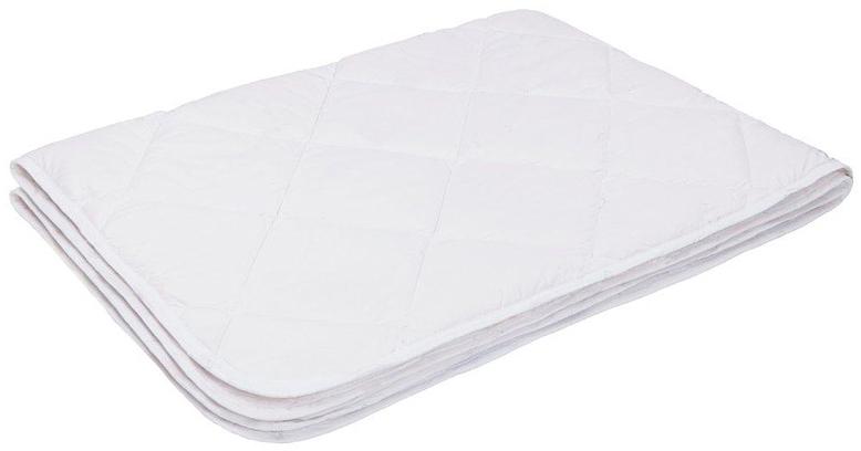 Одеяло Ecotex Файбер-Комфорт, облегченное, цвет: белый, 140 х 205 см68/4/5- экологичность;- гигиеничность: не впитывает запахи и пыль;- теплоизоляция и воздухопроницаемость;- долговечность: в течение долгого времени сохраняет объем и упругость;- легкость в уходе: легко стирается, быстро сохнет.