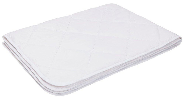 Одеяло Ecotex Файбер-Комфорт, облегченное, цвет: белый, 172 х 205 смpch222653- экологичность;- гигиеничность: не впитывает запахи и пыль;- теплоизоляция и воздухопроницаемость;- долговечность: в течение долгого времени сохраняет объем и упругость;- легкость в уходе: легко стирается, быстро сохнет.