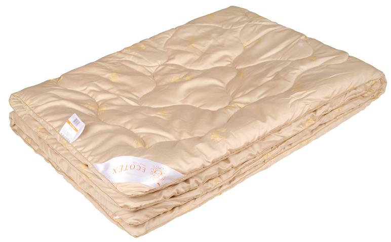 Одеяло Ecotex Роял Сафари, наполнитель: верблюжья шерсть, цвет: светло-бежевый, 172 х 205 смpch222653Одеяло Ecotex очень мягкое, уютно теплое и активно дышащее, обладает прекрасными функциональными свойствами. Благодаря уникальной комбинации теплозащитных и вентилирующих свойств одеяло создает идеальный микроклимат во время сна.Одеяло изготовлено из экологически чистого природного материала.Размер одеяла: 172 x 205 см.