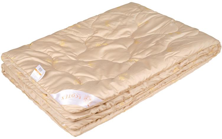 Одеяло Ecotex Роял Сафари, наполнитель: верблюжья шерсть, 200 х 220 смОСЕОдеяло Ecotex Роял Сафари отлично подойдет для зимы, оно хорошо согревает и дарит комфортный сон. В качестве наполнителя используется благородная тонкая шерсть верблюда. Чехол одеяла выполнен из натурального сатин-жаккарда. Преимущества: - сухое тепло, - целебные свойства, - высокое содержание ланолина, - антистресс, - экологичность, - антистатичность. Высококачественная коллекция Сафари популярна среди покупателей за уникальные природные свойства шерсти. Качество и технические инновации добавляют изделиям этой коллекции изысканную роскошь и дарят упоительный сон.