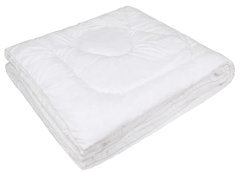 Одеяло Ecotex Файбер-Комфорт, цвет: белый, 172 х 205 см531-105- экологичность;- гигиеничность: не впитывает запахи и пыль;- теплоизоляция и воздухопроницаемость;- долговечность: в течение долгого времени сохраняет объем и упругость;- легкость в уходе: легко стирается, быстро сохнет.