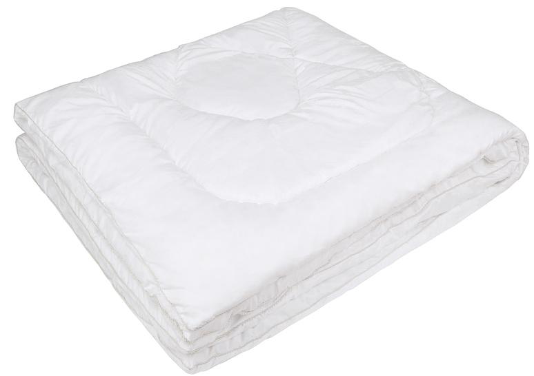Одеяло Ecotex Файбер-Комфорт, цвет: белый, 200 х 220 см531-401- экологичность;- гигиеничность: не впитывает запахи и пыль;- теплоизоляция и воздухопроницаемость;- долговечность: в течение долгого времени сохраняет объем и упругость;- легкость в уходе: легко стирается, быстро сохнет.