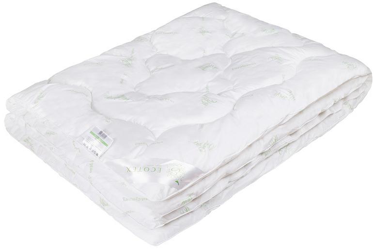 Одеяло Ecotex Эвкалипт, наполнитель: синтепух, цвет: белый, 172 х 205 см531-401- экологичность;- комфортный сон: обеспечивает прекрасный теплообмен, не поглощает посторонние запахи;- гигиеничность: высокая антибактериальная защита;- благотворное воздействие на кожу;- антистресс-эффект;- сочетание мягкости и объемности.