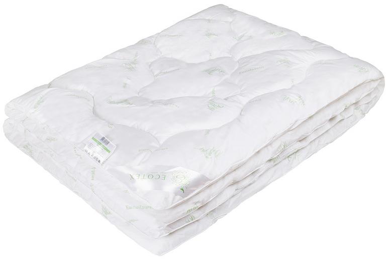 Одеяло Ecotex Эвкалипт, наполнитель: синтепух, цвет: белый, 200 х 220 смCLP446- экологичность;- комфортный сон: обеспечивает прекрасный теплообмен, не поглощает посторонние запахи;- гигиеничность: высокая антибактериальная защита;- благотворное воздействие на кожу;- антистресс-эффект;- сочетание мягкости и объемности.