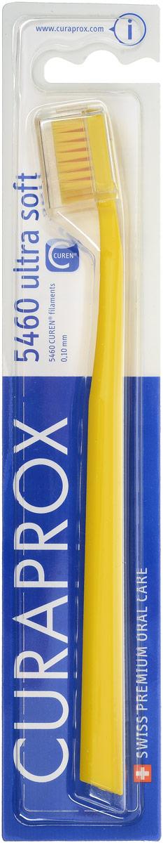 Curaprox CS 5460 Зубная щетка Ultrasoft, d 0,10 мм, цвет: желтыйMP59.4DЩетка предназначена для ежедневного очищения зубов. Щетка содержит 5460 мягких активных щетинок (диаметр 0,10мм) и обеспечивает качественное и нетравматичное удаление зубного налета.
