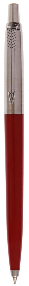 Parker Ручка шариковая Jotter Royal цвет красный730396Марка Parker гарантирует полную уверенность в превосходном качестве товара. Ручка Parker Jotter Royal будет не только долго служить, но и неизменно радовать удобством и легкостью письма, надежностью в эксплуатации и прекрасным эстетическим исполнением. Удивительное разнообразие моделей, а также великолепие и надежность отделки поверхностей позволяют удовлетворить даже самые взыскательные вкусы, обеспечивая при этом безукоризненность исполнения самых разных задач в процессе письма и соответствие различным стилям письма.