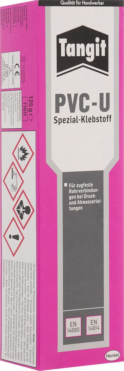 Клей Тангит PVC-U, для труб из ПВХ, 125 г1874354Клей Тангит PVC-U предназначен для склеивания стойких к деформации сдвига соединений напорных труб (для воды и газа) с арматурой из твердого ПВХ.Особенности:Надежное долговечное склеивание.Простота и удобство использования, банки снабжены кистями.Опыт использования клея Tangit PVC-U в более чем 120 странах мира более 30 лет.4 минуты открытого времени.Клей имеет сертификат для использования в трубах с питьевой водой.Товар сертифицирован.