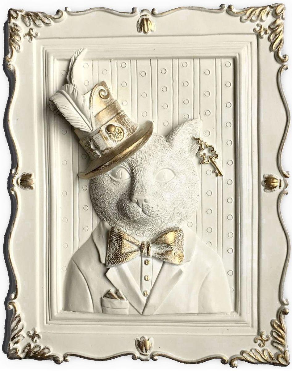 Декоративное украшение Magic Home Кот, 23 х 19 х 5 см300169Декоративное украшение Кот, изготовленное из полирезины, отлично подойдет для декорирования интерьера. Такое украшение не только подчеркнет ваш изысканный вкус, но и станет прекрасным подарком для родных и близких.