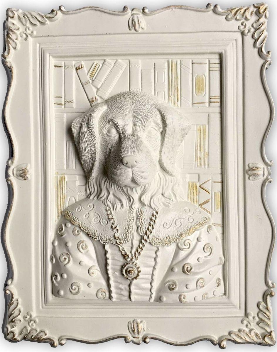 Декоративное украшение Magic Home Лабрадор, 23 х 19 х 5 см43414Декоративное украшение Лабрадор, изготовленное из полирезины, отлично подойдет для декорирования интерьера. Такое украшение не только подчеркнет ваш изысканный вкус, но и станет прекрасным подарком для родных и близких.