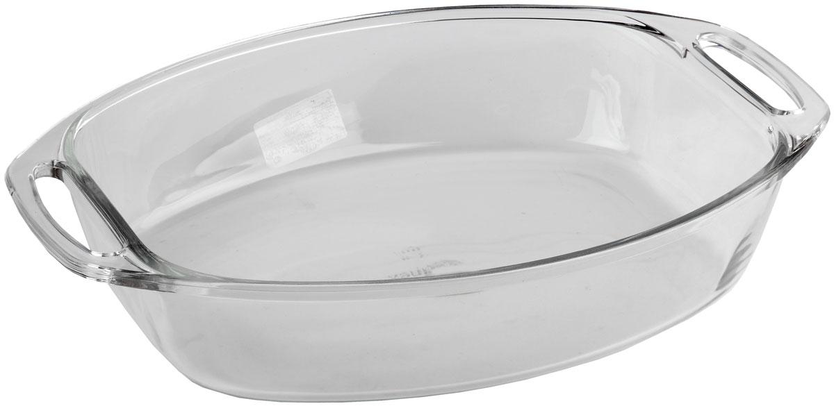 Форма для запекания Marinex, овальная. M666502-154 009312Стеклянная форма для запекания жаропрочная Marinex подходит для использования в духовках, микроволновых печах, холодильных и морозильных камерах, посудомоечных машинах.
