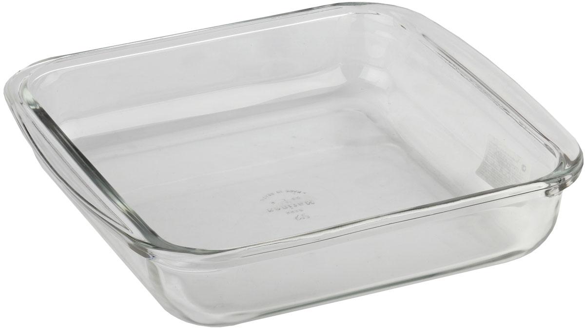Форма для запекания Marinex, прямоугольная. M162214-194672Стеклянная форма для запекания жаропрочная Marinex подходит для использования в духовках, микроволновых печах, холодильных и морозильных камерах, посудомоечных машинах.