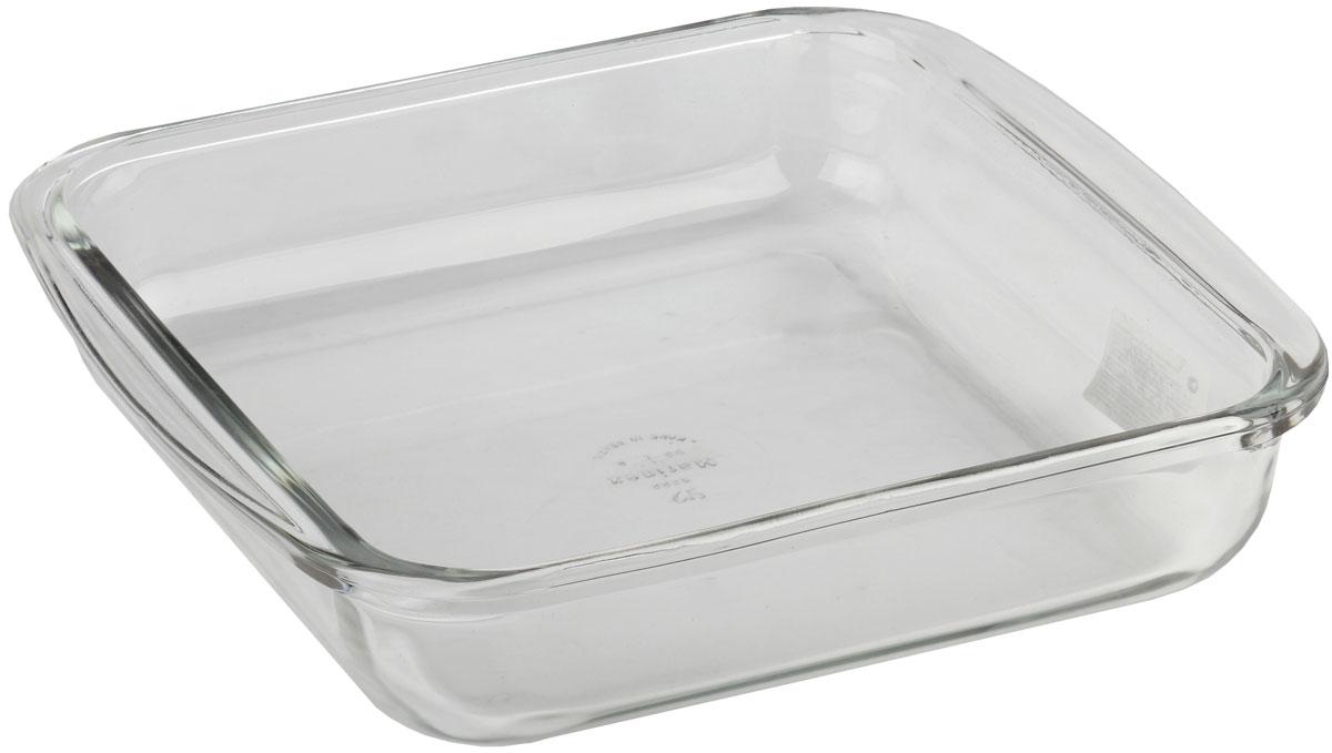 Форма для запекания Marinex, прямоугольная. M162220-194672Стеклянная форма для запекания жаропрочная Marinex подходит для использования в духовках, микроволновых печах, холодильных и морозильных камерах, посудомоечных машинах.