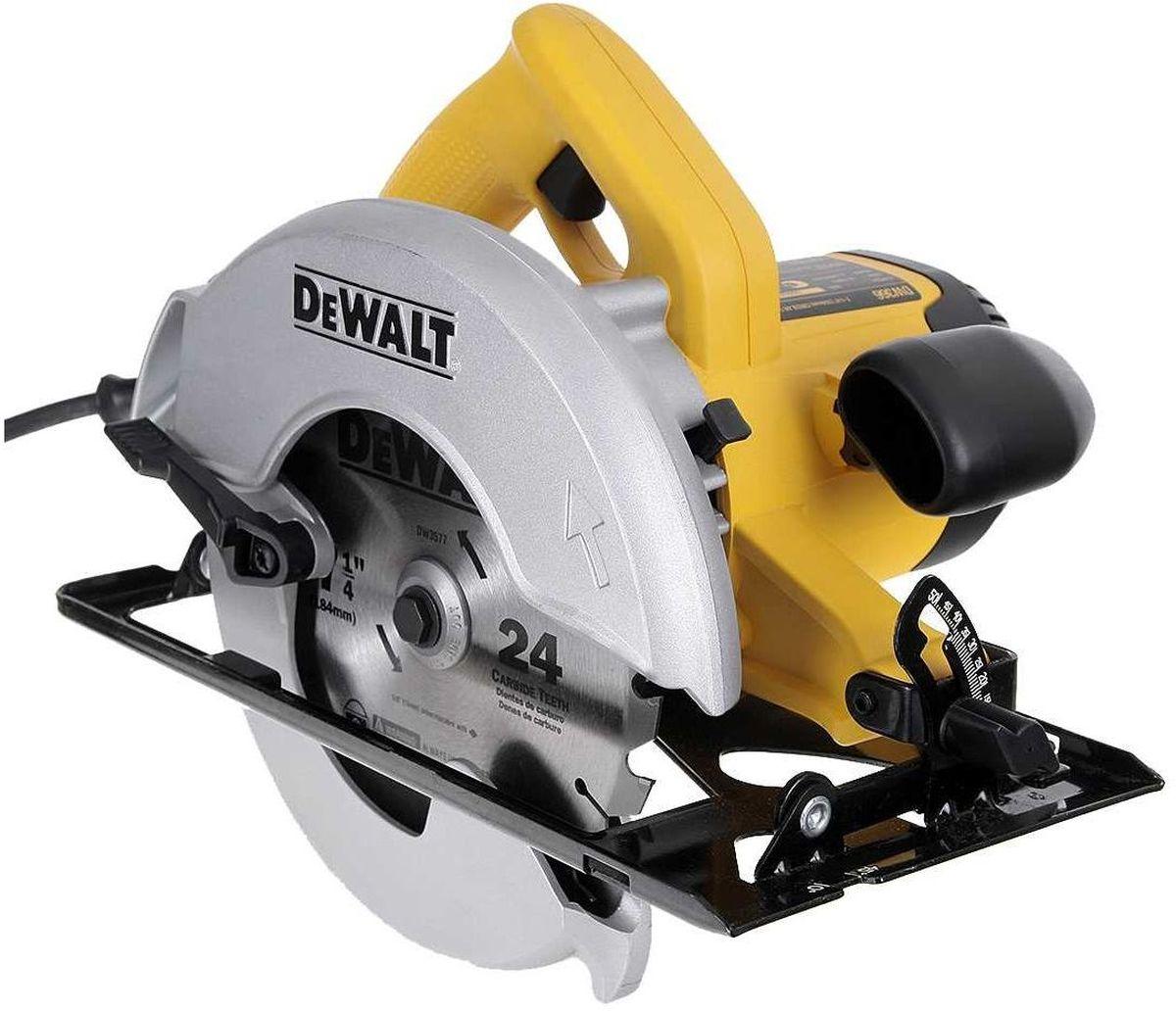 Пила дисковая DeWalt, электрическая. DW366DW366Пила DeWalt - компактная, превосходно сбалансированная и простая в эксплуатации дисковая пила с глубиной пропила 60 мм. Надежный высокомоментный двигатель обеспечивает долговечность и мощность для работы на стройплощадках и в столярных мастерских. Эффективный канал пылеудаления для минимизации содержания пыли в воздухе при подключении к пылесосу или в мешок. Пила имеет превосходную балансировку, быструю и легкую регулировку глубины пропила и угла наклона. А также прочную и долговечную подошву из штампованной стали и две рукоятки для удобства управления.Выходная мощность: НД Вт. Диаметр посадочного отверстия: 16 мм. Угол наклона: 50 °.Макс. глубина реза 90°: 60 мм. Макс. глубина реза 45°: 45 мм. Держатель насадки: 42374 мм. Высота: 250 мм.