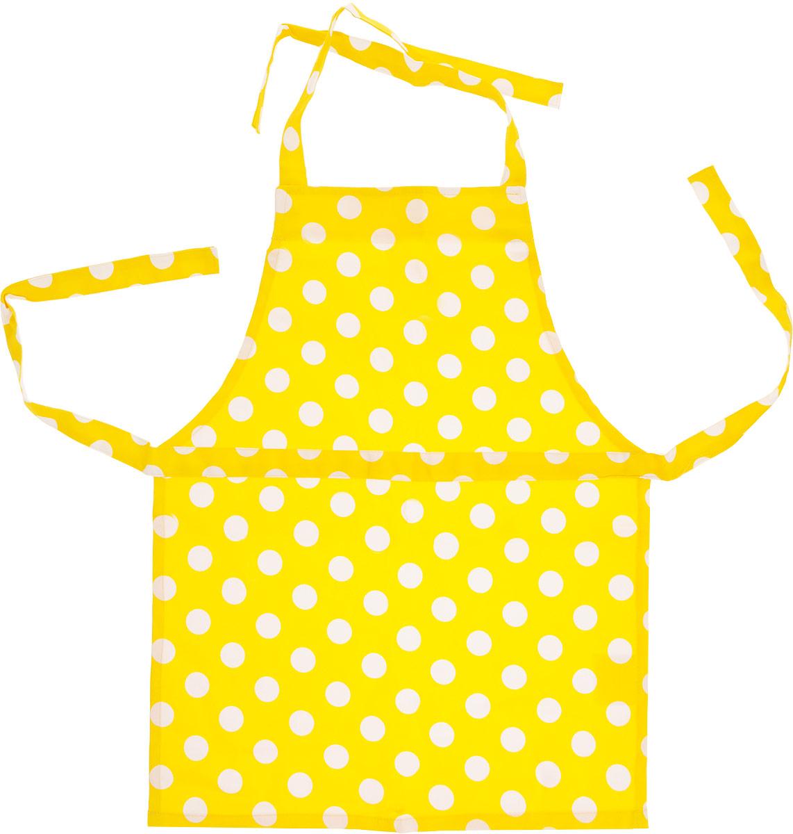Детский фартук Мамины помощники даст возможность почувствовать вашей девочке себя в роли настоящей хозяйки и принять активное участие в приготовлении различных блюд.Замечательный передник обязательно привлечет внимание ярко-желтой расцветкой и непременно понравится вашему ребенку.Кухонный фартук выполнен из качественного материала, приятного на ощупь.На обратной стороне упаковки. в которую упакован фартук расположен рецепт пиццы, которую легко приготовить вместе.