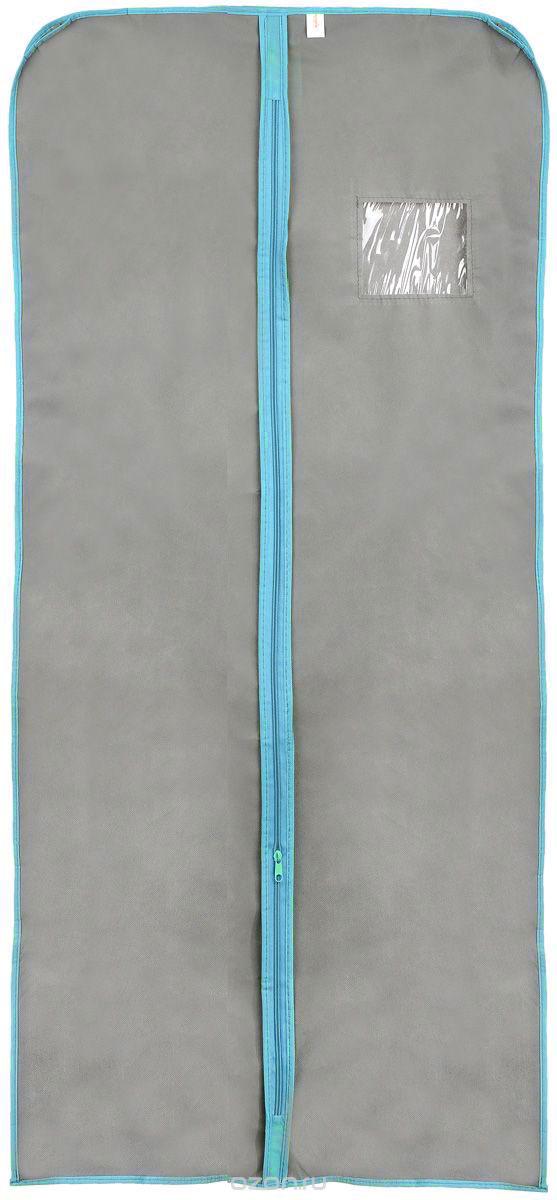 Чехол для меховой одежды Хозяюшка Мила, тканевый, цвет: серый, 60 х 137 смRG-D31SЧехол для меховой одежды Хозяюшка Мила изготовлен из вискозы и оснащен застежкой-молнией. Особое строение полотна создает естественную вентиляцию: материал дышит и позволяет воздуху свободно проникать внутрь чехла, не пропуская пыль. Полиэтиленовое окошко позволяет увидеть, какие вещи находятся внутри. Широкая боковая вставка позволяет бережно хранить объёмную зимнюю одежду, такую как меховые шубы, дублёнки, пуховики. Чехол для меховой одежды Хозяюшка Мила защитит ваши вещи от повреждений, пыли, моли, влаги и загрязнений.