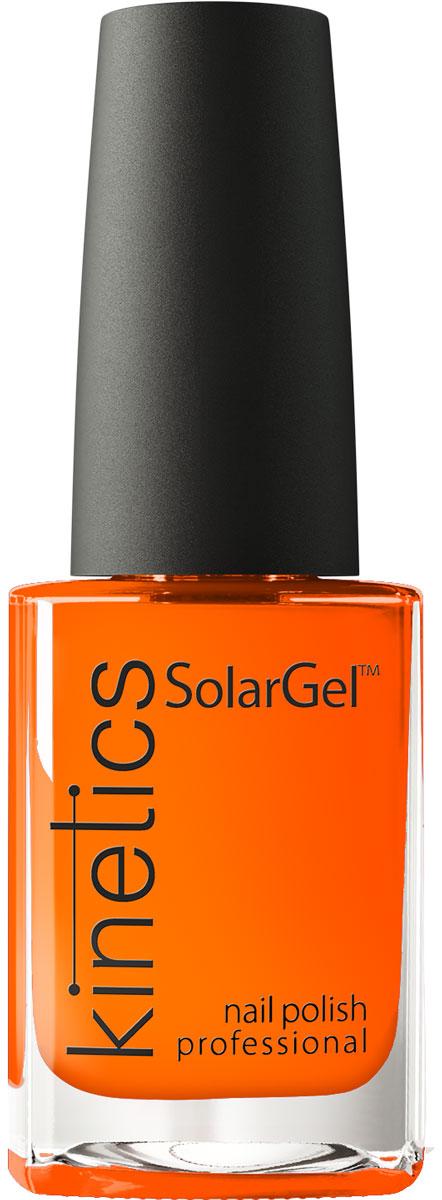 Kinetics Профессиональный лак SolarGel Polish 15 мл, тон 371016194Новое поколение профессиональных гелевых лаков для ногтей, которые наносятся как обычный лак, а выглядят как гель. Ультра модные и классические цвета, поражают своей стойкостью и разнообразием оттенков. Стойкость до 10 дней, не требует специальной сушки в UV/LED лампе. Рекомендуется использовать с верхним покрытием SolarGel Top Coat.