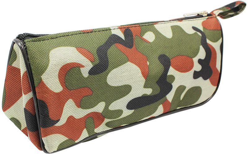 ArtSpace Пенал-косметичка Хаки цвет темно-зеленый72523WDУдобный школьный пенал для хранения письменных и чертежных принадлежностей. Имеет одно отделение на молнии