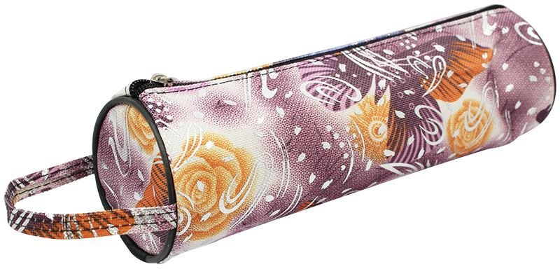 ArtSpace Пенал-тубус Бабочка цвет розовыйTn_11588Удобный школьный пенал для хранения письменных и чертежных принадлежностей. Имеет одно отделение на молнии