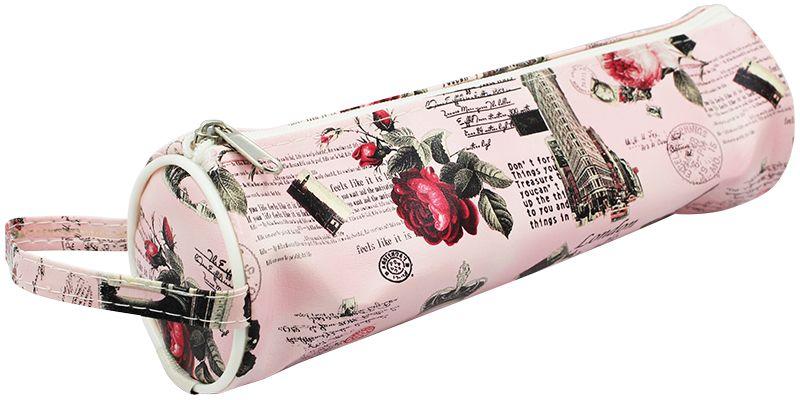 ArtSpace Пенал-тубус Travel цвет розовыйTn_11586Удобный школьный пенал для хранения письменных и чертежных принадлежностей. Имеет одно отделение на молнии