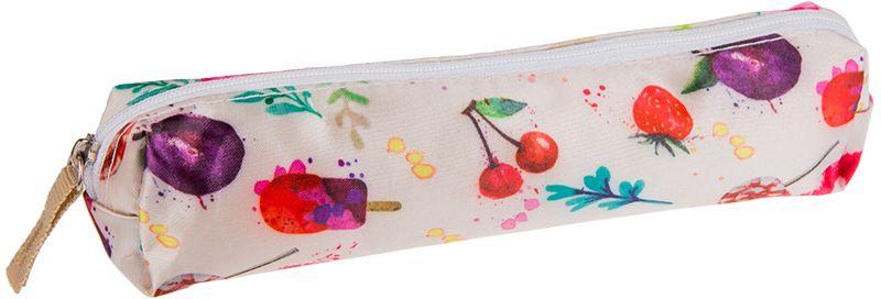 ArtSpace Пенал-косметичка Sweet цвет белый72523WDУдобный школьный пенал для хранения письменных и чертежных принадлежностей. Имеет одно отделение на молнии