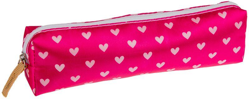 ArtSpace Пенал-косметичка Сердце цвет розовый72523WDУдобный школьный пенал для хранения письменных и чертежных принадлежностей. Имеет одно отделение на молнии