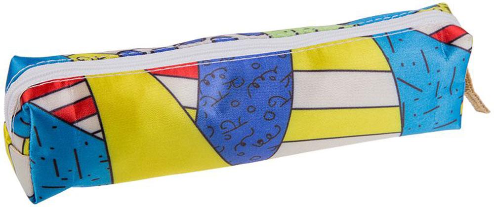 ArtSpace Пенал-косметичка Арт-микс72523WDПенал-косметичка ArtSpace станет незаменимым аксессуаром как для школьников, так и для совсем маленьких деток. Модель отлично подойдет для хранения различных принадлежностей. В верхней части пенала расположена застежка-молния, которая не позволит содержимому потеряться.