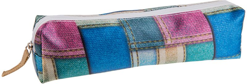 ArtSpace Пенал-косметичка Джинса цвет синий72523WDУдобный школьный пенал для хранения письменных и чертежных принадлежностей. Имеет одно отделение на молнии