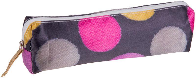 ArtSpace Пенал-косметичка Шарики цвет серыйBF_11018Удобный школьный пенал для хранения письменных и чертежных принадлежностей. Имеет одно отделение на молнии