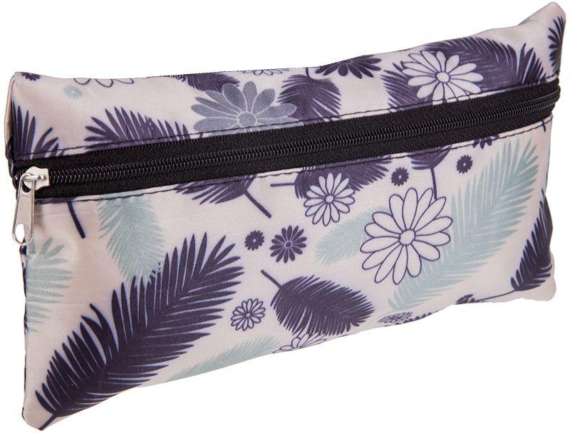 ArtSpace Пенал-косметичка Creative цвет серый, фиолетовый