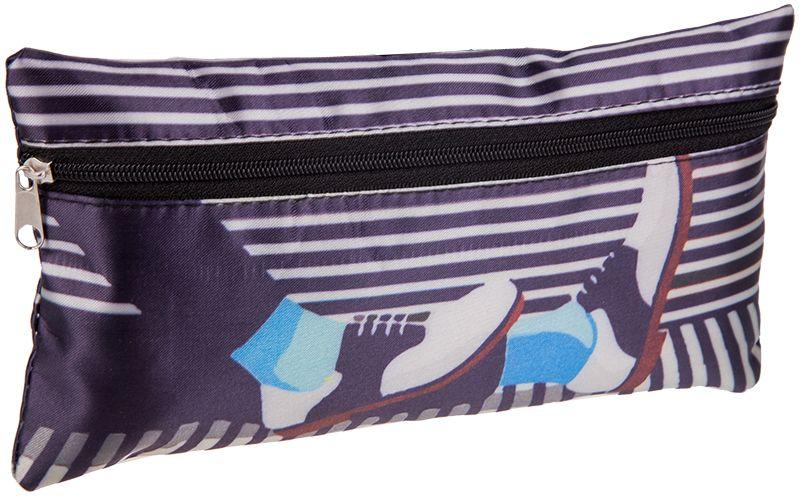 ArtSpace Пенал-косметичка Creative цвет темно-синий BF_1103072523WDУдобный школьный пенал для хранения письменных и чертежных принадлежностей. Имеет одно отделение на молнии