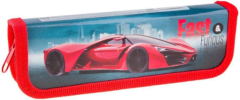 ArtSpace Пенал Авто Supercar цвет красный ПК1_10600ПК1_10600Пенал 1 отделение, на молнии. Удобный пенал для школьных канцелярских принадлежностей. Пенал имеет одно отделение и надежную застежку - молнию.