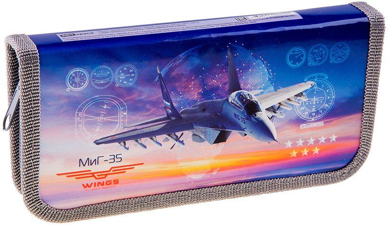 ArtSpace Пенал Военные самолеты цвет синий 30П18_ПК2_1061272523WDПенал 1 отделение, на молнии. Удобный пенал для школьных канцелярских принадлежностей. Пенал имеет одно отделение и надежную застежку - молнию.