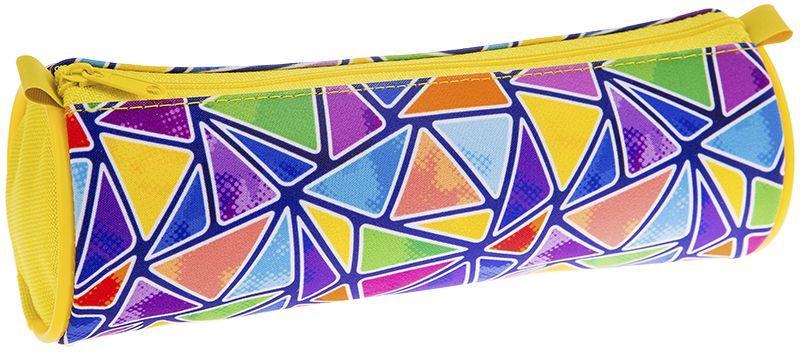 ArtSpace Пенал-тубус Калейдоскоп цвет фиолетовый72523WDМягкий пенал-тубус для школьных канцелярских принадлежностей. Размер - 210х70 мм. Материал - полиэстер 600 Den, застежка-молния.
