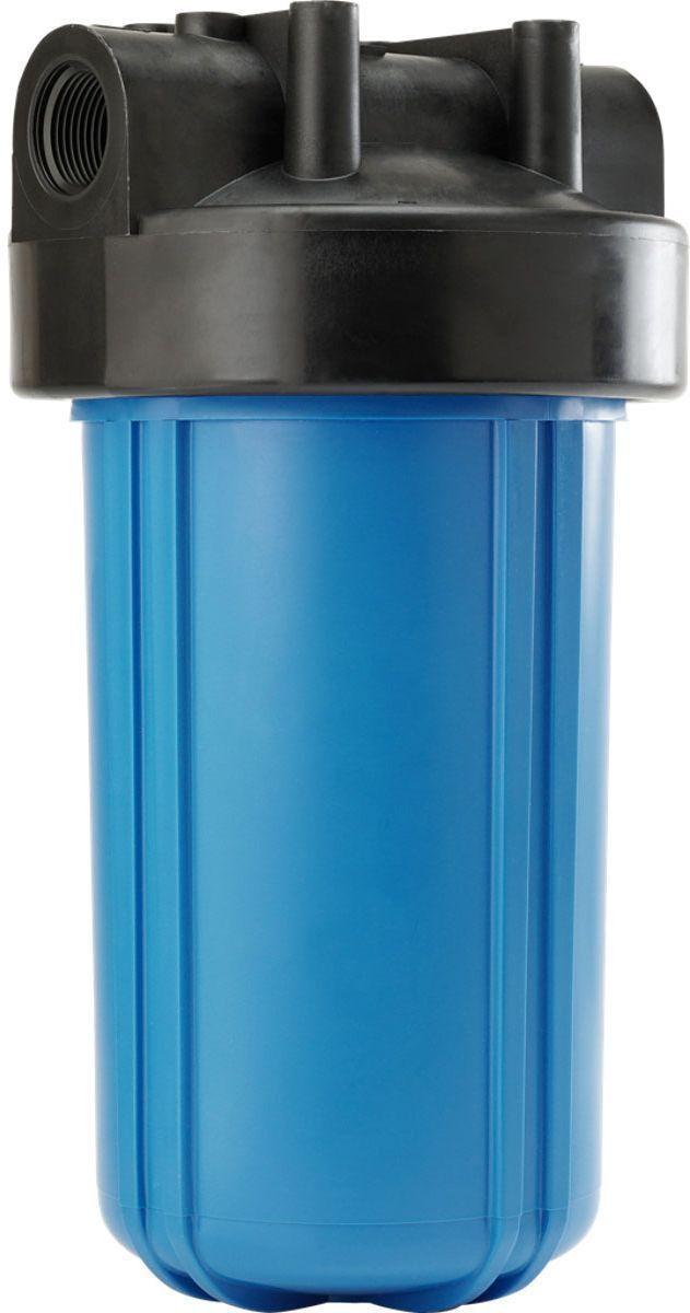 Колба для холодной воды Unicorn FHBB 10 Big Blue, 25 х 17,5 см, 6 бар, 1BL505ПрименениеКорпусы фильтров FHBB используются в основном для систем водоподготовки коттеджей и промышленных предприятий.КонструкцияКорпус фильтра FHBB - 2-составной (крышка и колба), конструктивно данный фильтр отличается размерами, что позволяет использовать его для систем с большими расходами воды. Крышка фильтра имеет клапан для спуска воздуха, а также направляющие для правильной установки картриджа.